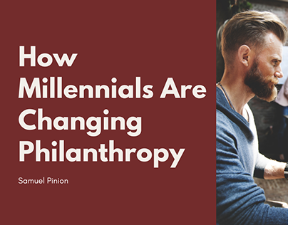How Millennials Are Changing Philanthropy