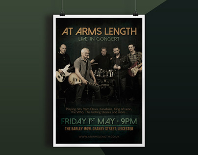 Poster - At Arms Lenghth