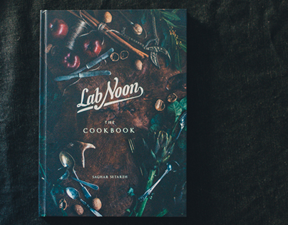 Lab Noon, The Cookbook | Final Thesis Project