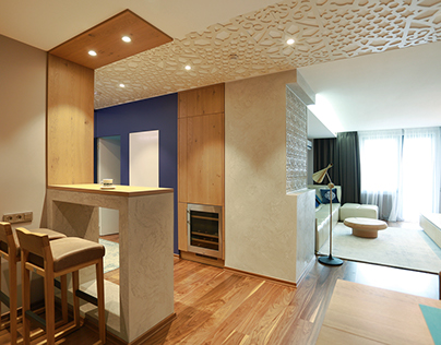 Modern design apartment in Kiev