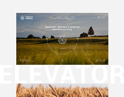 Website for Grain Elevator
