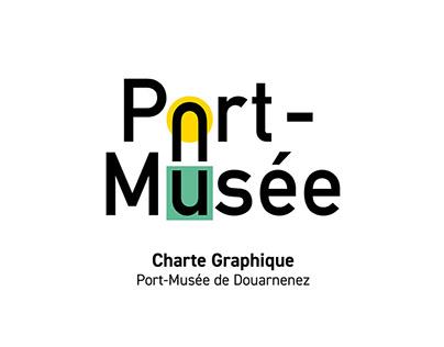 Charte graphique Port-Musée de Douarnenez