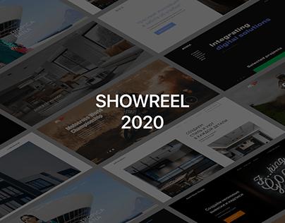 Showreel 2020 – website design