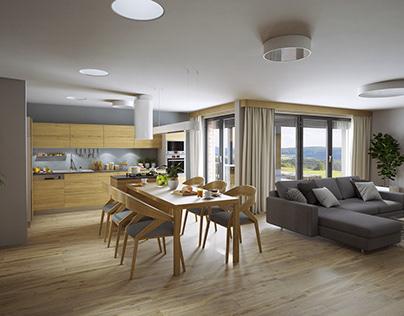 Rodinný dům - interiér / Family House - Interior