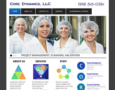 Core Dynamics, LLC Websites