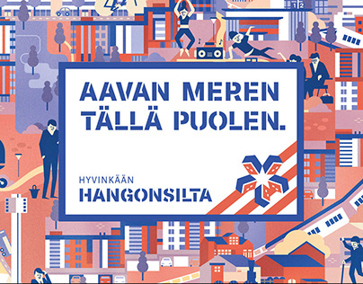 Hangonsilta - Area branding for easy living