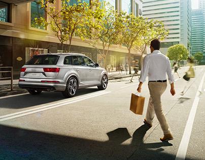 Audi Q7 Hong Kong Launch