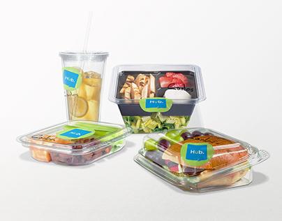 Food Hub : Open cafeteria design