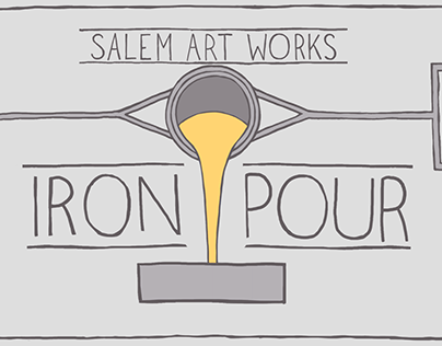 Event Graphics: Iron Pour
