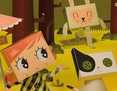 Cubierta para revista infantil en Cataluña