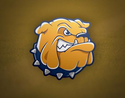 Bulldog Logo timelapse