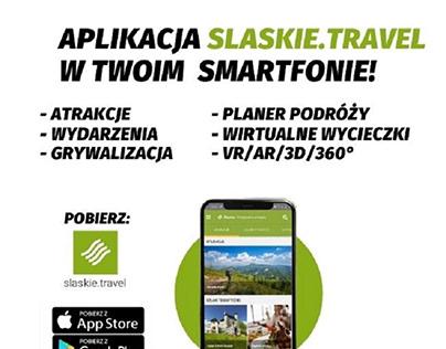 Banery promocyjne - aplikacja slaskie.travel