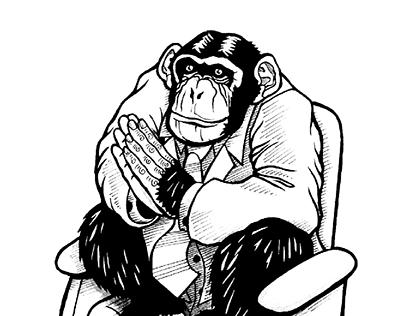 Como primates aplaudiendo...