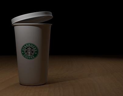 Coffee Cup: Blender 3D