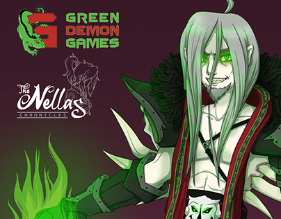 The Nellas Chronicles Game - Character Art & Logos