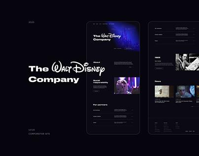 Corporate Website The Walt Disney Company