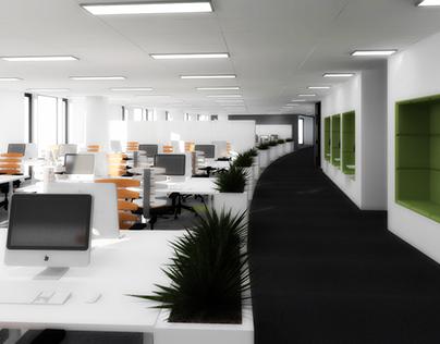 project for Ciklum - openspace