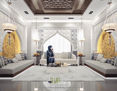 modern Islamic interior design