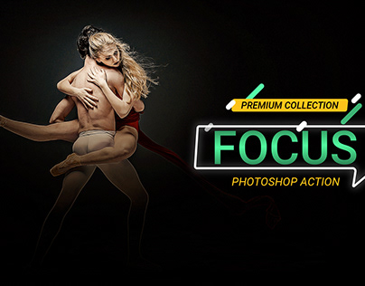 Focus Photoshop Action