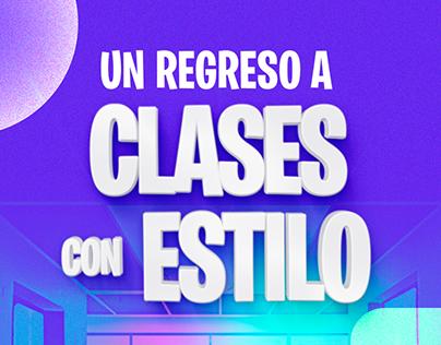 Un regreso a clases con estilo - Contenido digital #1