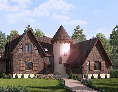 Manor in the Moscow region