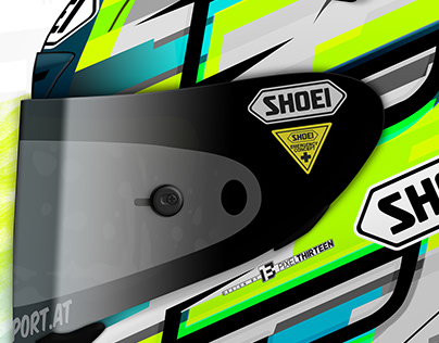 Shoei X-Spirit III Helmet Graphicdesign