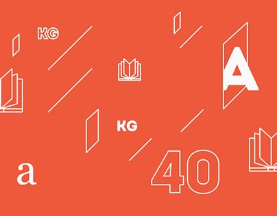40 kg books / stickers 2014