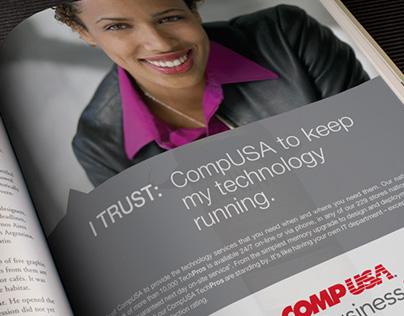 CompUSA Business Services Ad Campaign