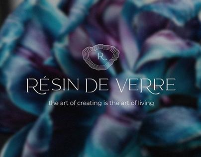 RÉSIN DE VERRE BRANDING