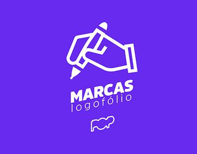 Logofólio - Portfólio de marcas Pop Comunicação