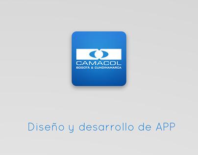 Aplicación Camacol Bogotá & Cundinamarca