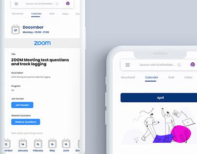 EVA PHARMA App Design