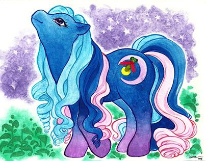 4 Ponies design