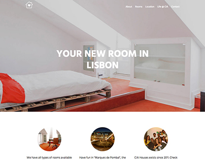 CIA Houses - UI/UX Design and Front End Dev