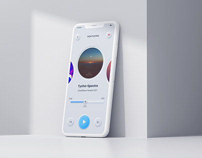 Music Player: Neumorphism UI