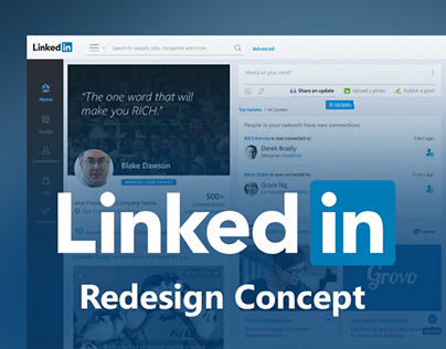 Linked in Redesign Concept