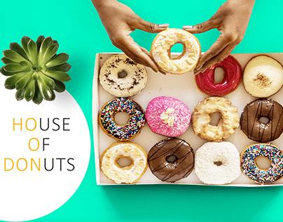 Social Media Designs | House of Donuts