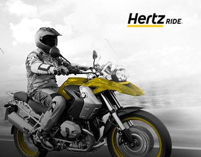 Hertz Ride | UI Design + Programação Web + SEO