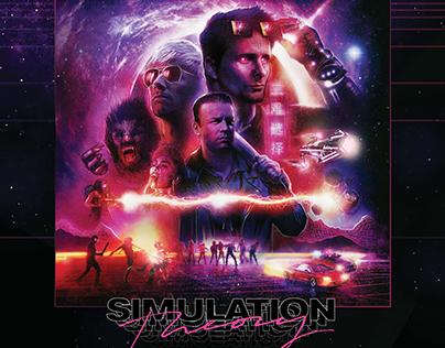 MUSE: Simulation Theory Album Cover illustration