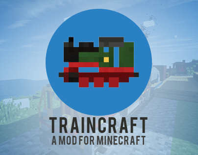 Traincraft branding & webpage