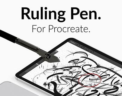 Procreate Ruling Pen!