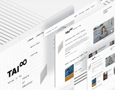 Web Interface for Education Platform - Tai Schools