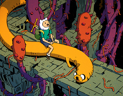 Adventure Time Comics #25 Subscription Cover