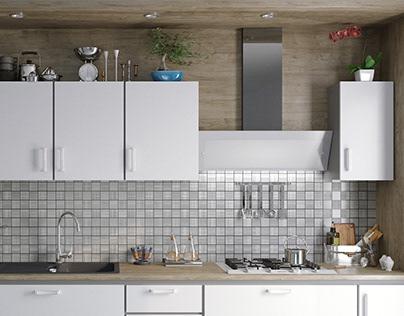 19/5000 Visualization of the kitchen