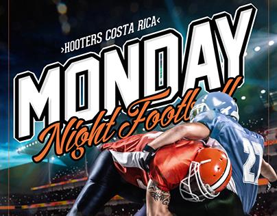 Hooters Football Nights - Costa Rica