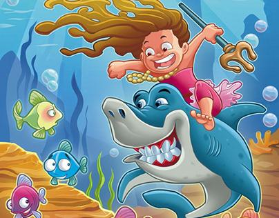 Digital illustrations for children!