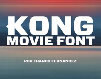 Kong Movie Font