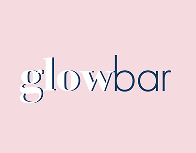 Glowbar Logo Design