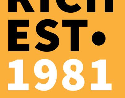 RICH EST• 1981 (Brand Logo)