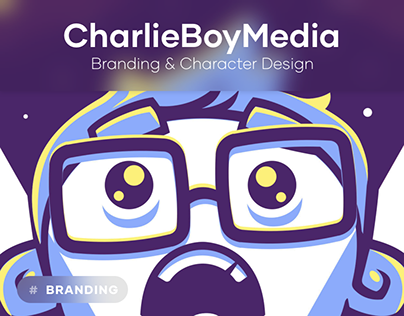 Charlie Boy Media - character and lettering